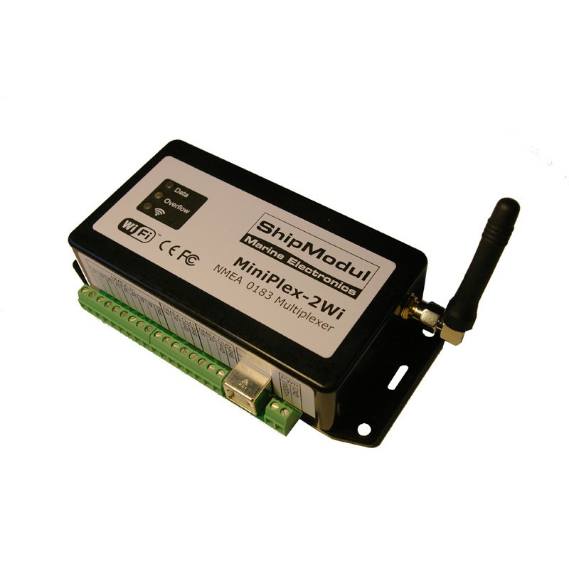 Miniplex-2wi - WiFi NMEA Multiplexer for NMEA 0183