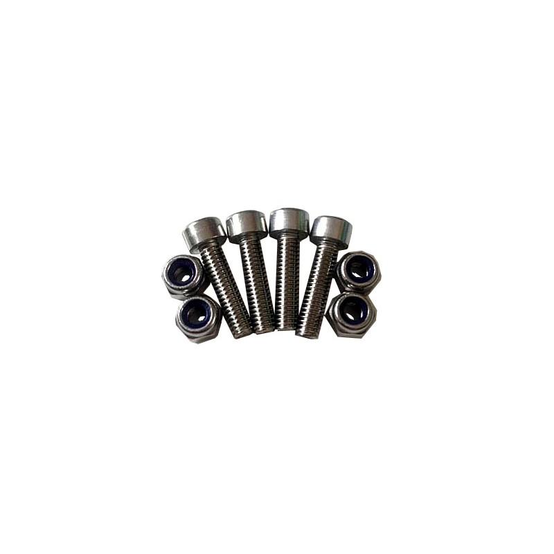 Inox screw kit for RAM accessories