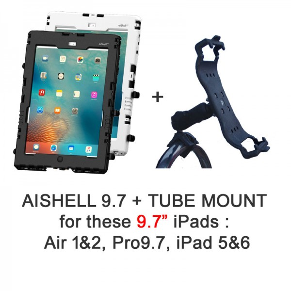 Pack aiShell 9.7 + Tube Mount
