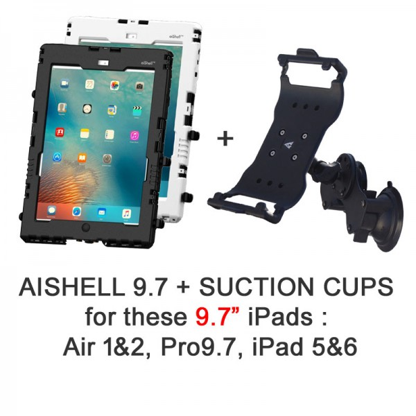 Pack aiShell 9.7 + Suction Cups