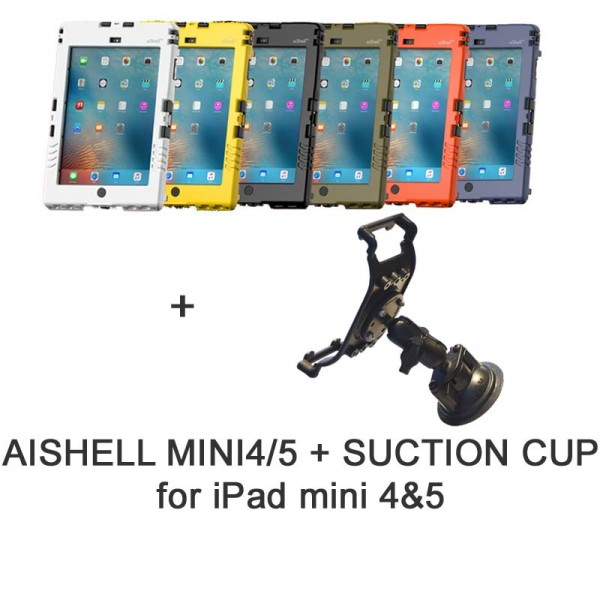 Pack aiShell mini 4/5 + suction cup