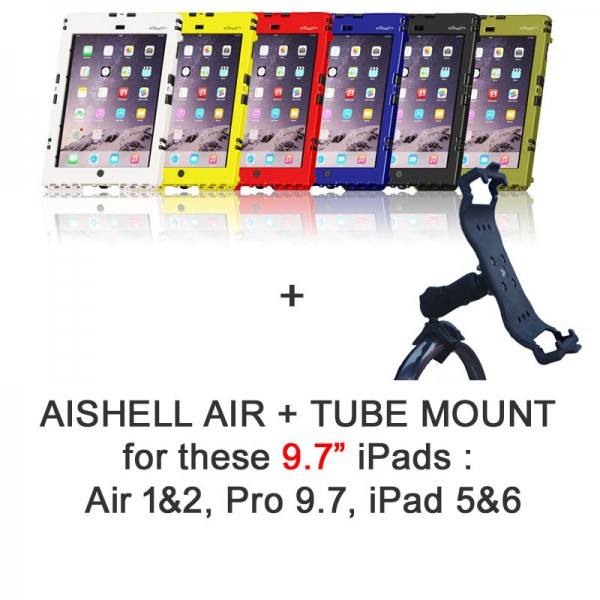 Pack aiShell Air + Tube Mount