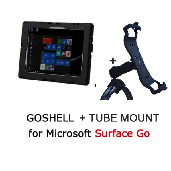 Pack GoShell + tube mount