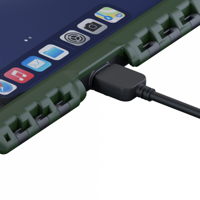 Waterproof charging cable - Andres Industries