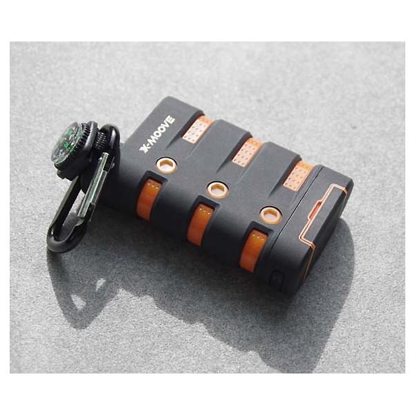 Waterproof rugged external battery - X-MOOVE